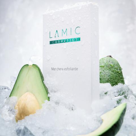Маска — эксфолиант «Lamic Maschera esfoliante» набор из 3 масок